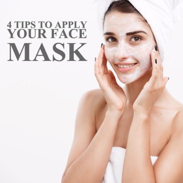 How to Properly Apply your Face Mark